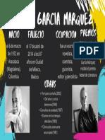 afiche gabriel garcia marquez