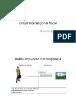 Drept fiscal international