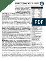 10.27.20 Mariners Fall League Report