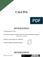 CALCITA - Anotações