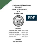 OS Assignment#3