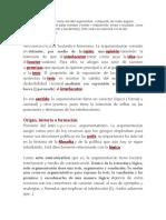 ARGUMENTAR - etimologia (1)
