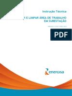 IT027 - REGULARIZAR E LIMPAR ÁREA DE TRABALHO  EM SUBESTAÇÃO (1)