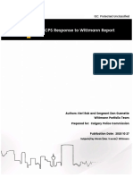 2020 CPS Response to Wittmann Report