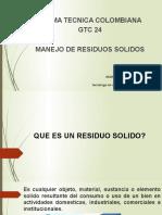 CAP RESIDUOS SOLIDOS 2016 PPT