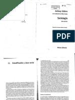 Giddens-Sociologia- Estratificación y Clase Social 1