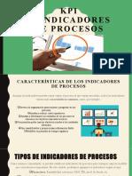 KPI e indicadores de procesos