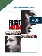 Frost vs Nixon. Learn English Watching Films