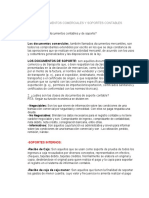 DOCUMENTOS COMERCIALES Y SOPORTES CONTABLES