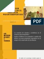 CREAR METÁFORAS EN EL CONTEXTO PSICOTERAPÉUTICO 1