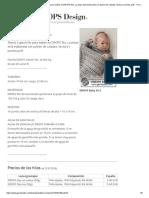 Big Dreams - Manta a ganchillo para bebés en DROPS Sky. La pieza está elaborada con patrón de calados, textura y puntos puff. - Free pattern by DROPS Design