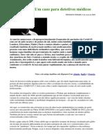Covid-19 – Um caso para detetives médicos (02/05/2020)