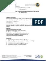 CALIBRACION ESPECTROS GONIOMETRO