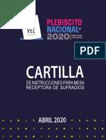 2 CARTILLA VOCALES PLEBISCITO 2020 CHILE