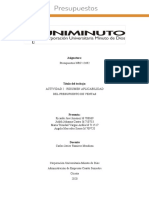 ACTIVIDAD 2  - RESUMEN APLICABILIDAD DEL PRESUPUESTO DE VENTAS (1)