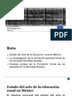 5. Dra. R.M. Torres. Investigación de las escuelas rural en México