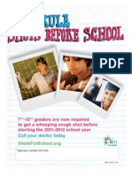 7th-12th Grade Immunization Requirements