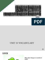 5_Unit 10 vocabulary