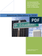 American Education in 2030 edited by Chester E. Finn Jr.