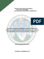 EFECTO DE CITOQUININAS, GIBERELINAS Y PROTECTOR FLORAL EN EL