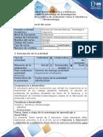 Guía de actividad y rúbrica de evaluación - Tarea 2 - Genética y Biotecnología