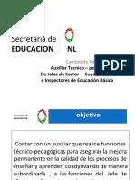 Funciones de Auxiliar Técnico Pedagógico
