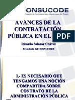01 Avances en la contratación publica en el Peru