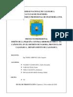 TRABAJO ESCALONADO PCH-  2 FINAL - HIDROENERGIA