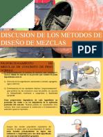 DISCUSION DE LOS METODOS DE DISEÑO DE MEZCLAS.pptx