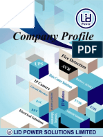 LID Power Solutions Ltd Profile
