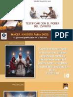 LECCIÓN 5-TESTIFICAR CON EL PODER DEL ESPÍRITU-