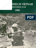 U.S. Marines in Vietnam an Expanding War 1966