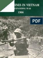 U.S. Marines in Vietnam an Expanding War 1966