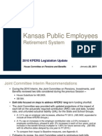 KPERS Long Term Funding Overview Presentation, Kansas House Benefits & Pensions 1-26-11