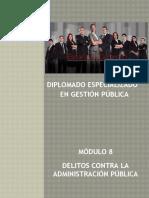 Diplomado en Gestión Pública - Octavo Módulo