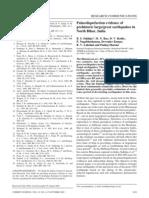 2002DK -CS Palaeoliquefaction evidence of Prehistoric earthquakes, N. Bihar