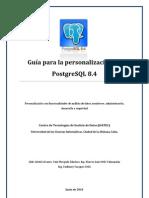 Guía para la personalización de PostgreSQL 8.4