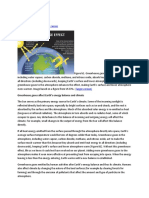 greenhouse on global warming