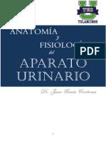 ANATOMIA Y FISIOLOGÍA DEL APARATO URINARIO