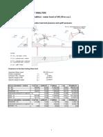 B.4.4.2.1 Annexe 1 - Spillway Stability
