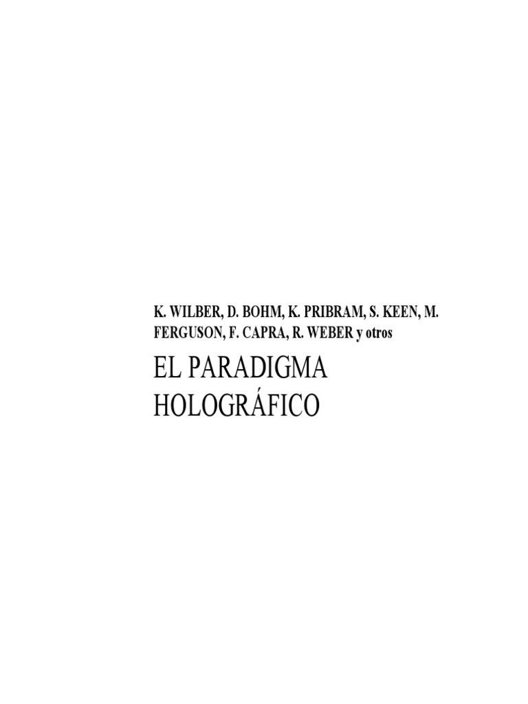 Wilber, Ken - El Paradigma Holografico -PDF