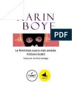 Karin Boye. La poeta sueca más amada. Pérez Santiago, escritor y traductor