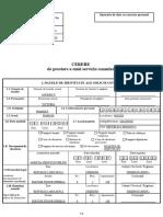 Cerere servicii consulare - Înregistrare naştere