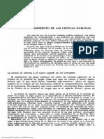Cirilo Flórez Miguel - Kant y el surgimiento de las ciencias humanas