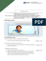 2ª aula Escrita Visões da Natureza - Ambivalência do Olhar - Construção de um texto descritivo