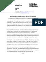 Housing Cap Prevents Achievement of State Housing Goal