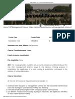 management-science