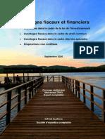 InFirst - Avantages fiscaux 2020