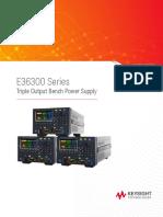 Keysight power supply E36300 Series(E36312A)