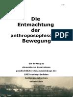 Saacke - Die Entmachtung der anthroposophischen Bewegung
